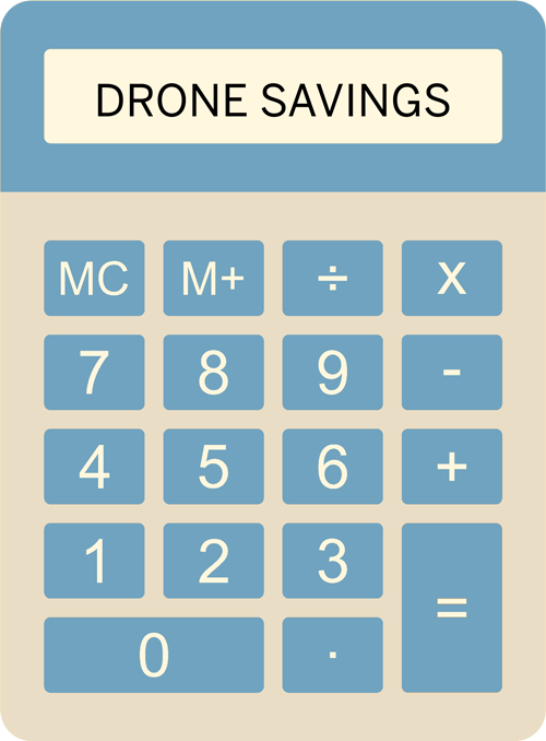 Drone Roof Inspection Calculator